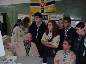 Radioescutismo no Observatório Aeroespacial de Oeiras (ex-CS1Mar e ex-CS1RAD).