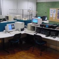 Vista geral do Observatório no Centro de Juventude de Oeiras em 1998