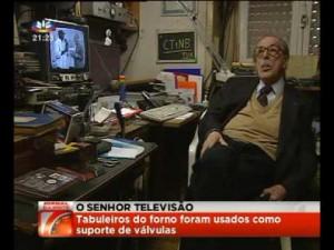 CT1NB Roberto Charters de Azevedo numa reportagem da SIC