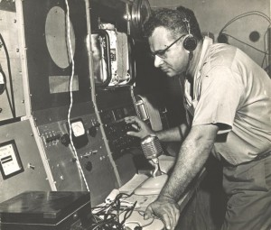 Bettencourt Faria no Observatório da Mulemba em 1970
