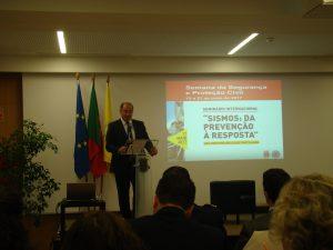 Eng.º Hélder Silva presidente da autarquia de Mafra e um perito em Protecção Civil e Comunicações de Emergência.